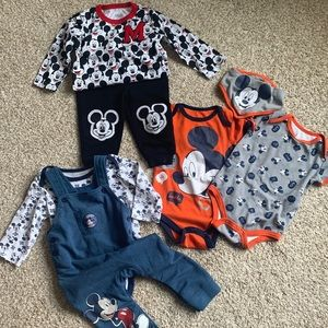 MICKEY MOUSE BABY BUNDLE - 12 months